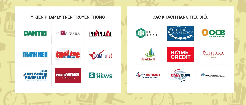 Đội ngũ luật sư DC Counsel thương xuyên đóng góp ý kiến pháp lý trên các báo điện tử lớn nhất Việt Nam và nhiều đối tác khách hàng trong và ngoài nước tin tưởng hợp tác.