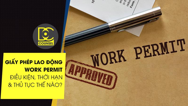 Giấy phép Lao động - Work Permit