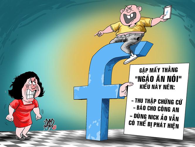 Bỗng dưng bị nói xấu trên mạng, ứng xử ra sao