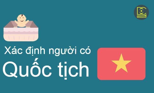 Xác nhận Gốc Việt Nam