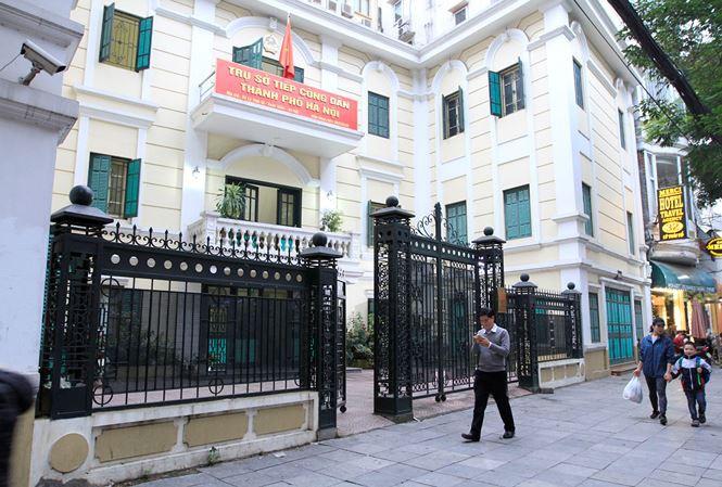 Trụ sở Tiếp công dân thành phố Hà Nội.