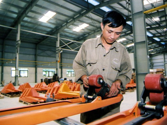 Doanh nghiệp kỳ vọng việc cải thiện môi trường kinh doanh phải đi vào thực chất, tránh hình thức, đối phó - ảnh: Minh Chiến