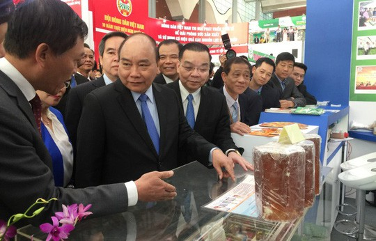 Thủ tướng Nguyễn Xuân Phúc thường xuyên chỉ đạo các bộ ngành quyết liệt cắt giảm điều kiện kinh doanh - Ảnh: Minh Chiến